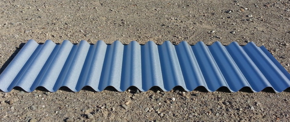"7/8"" Corrugated Metal Roof and Wall Panel"
