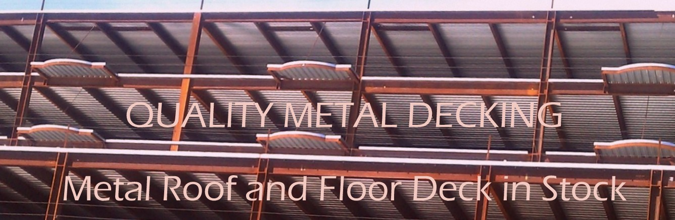 Quality Metal Decking Logo